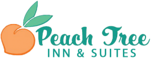 Peach Tree Inn & Suites logo.